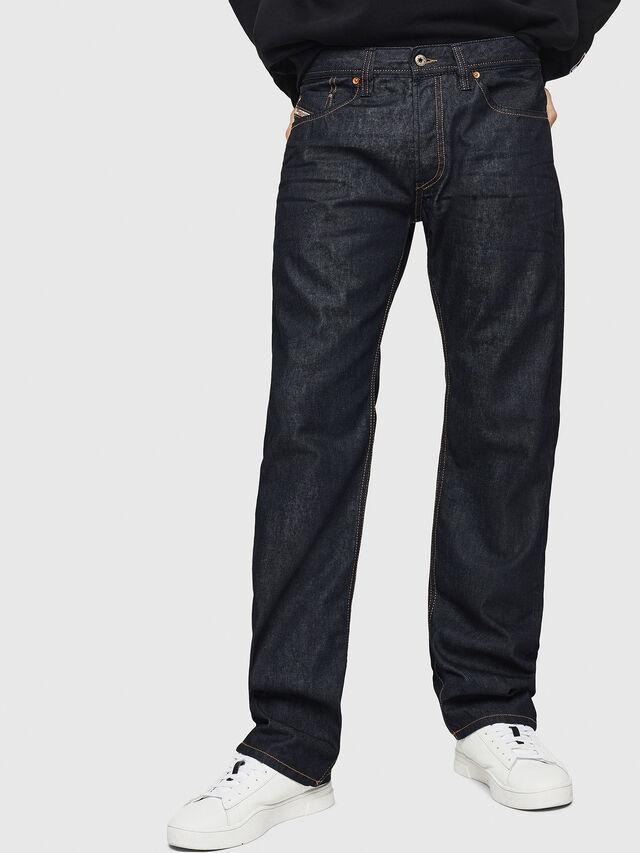 Diesel - Larkee-Relaxed 0088Z, Dark Blue - Jeans - Image 1