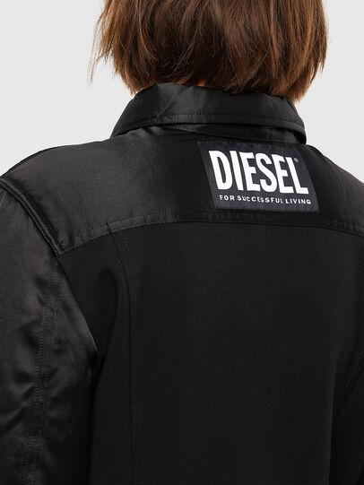 Diesel - G-PADD, Black - Jackets - Image 4