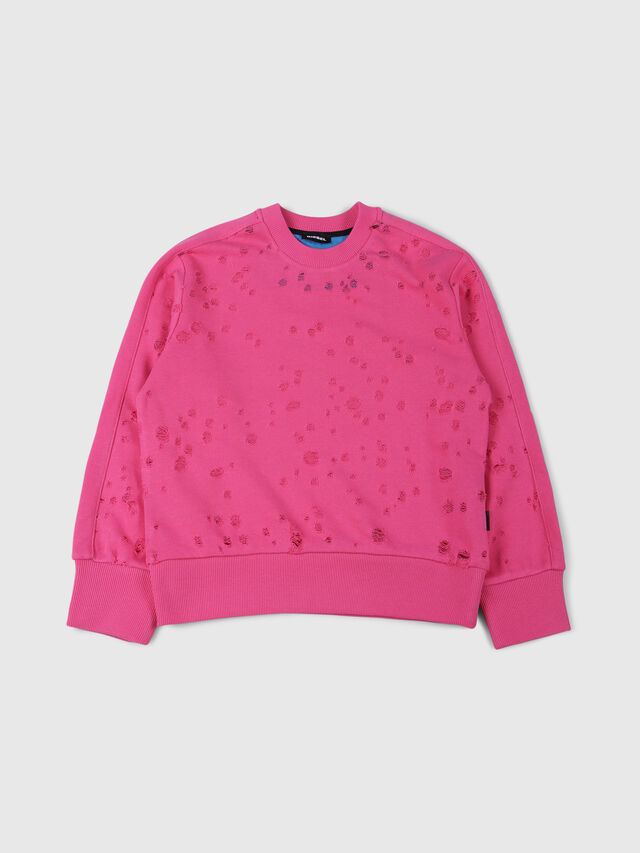 Diesel - SGRAHAM OVER, Hot pink - Sweaters - Image 1