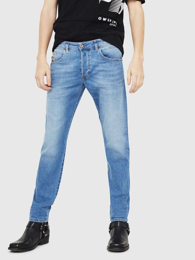 Diesel - D-Bazer 087AQ, Light Blue - Jeans - Image 1