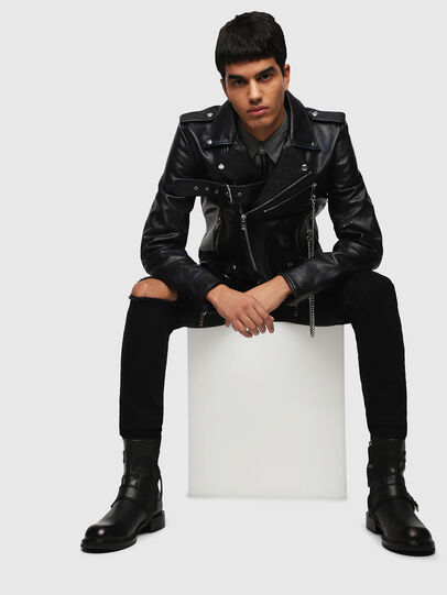 Diesel - L-KIO,  - Leather jackets - Image 5
