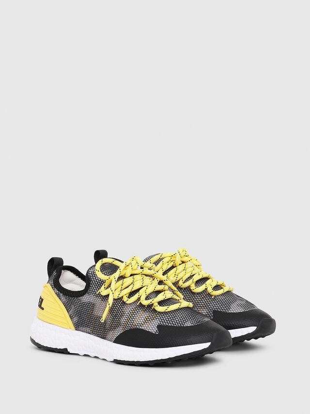 Diesel - SN LOW 10 S-K YO, Gray/Black - Footwear - Image 2