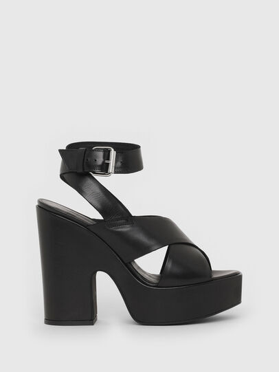 Diesel - SA-JULIA, Black - Sandals - Image 1