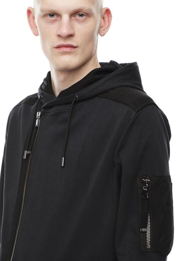 Diesel - SIRO, Black - Sweaters - Image 4