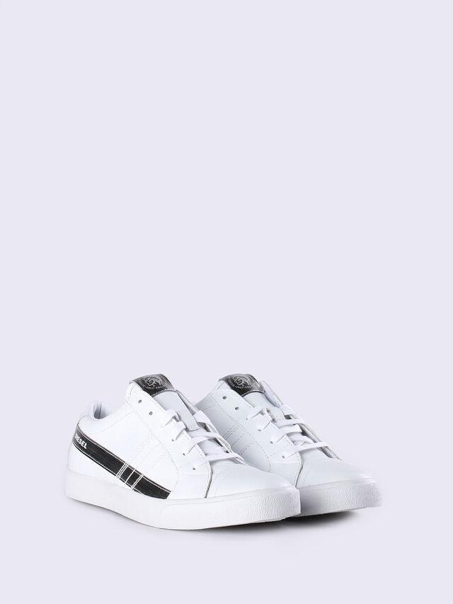 D-STRING LOW W, White/silver