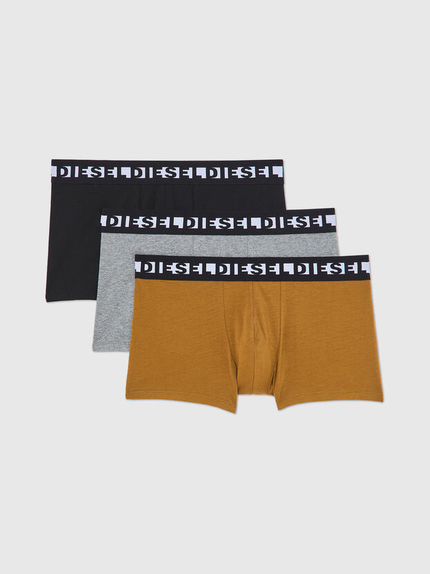 UMBX-SHAWNTHREEPACK, Black/Brown - Trunks