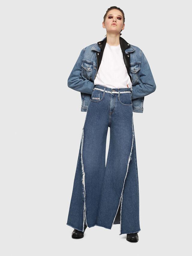 Diesel - D-Izzier 080AN, Medium blue - Jeans - Image 4