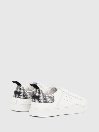 Diesel - S-CLEVER LOW W, White/Silver - Sneakers - Image 3