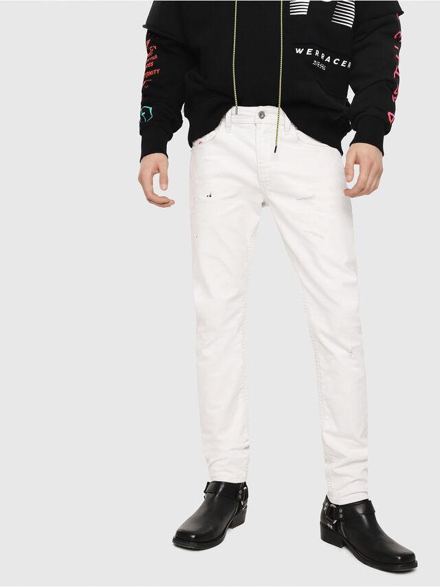 Diesel - Thommer 069DX, White - Jeans - Image 1