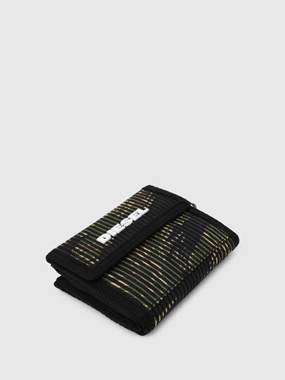 Diesel - YOSHI, Black/Green - Small Wallets - Image 6