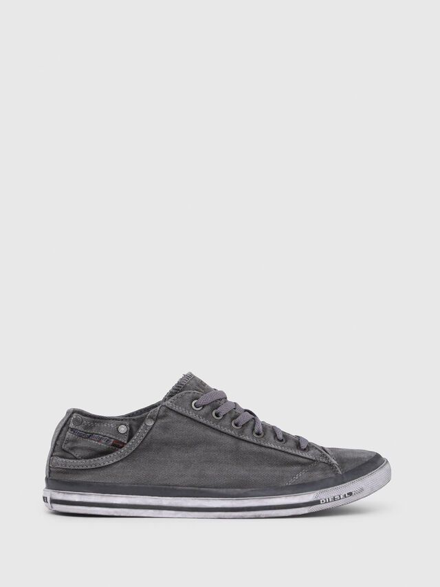 Diesel - EXPOSURE LOW I, Metal Grey - Sneakers - Image 1