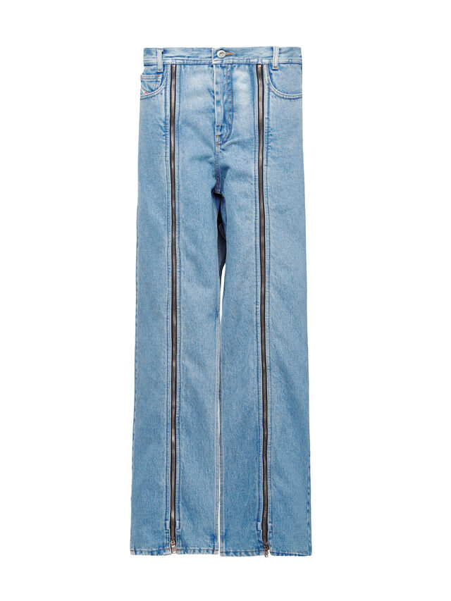 Diesel - SOWL01, Light Blue - Pants - Image 1