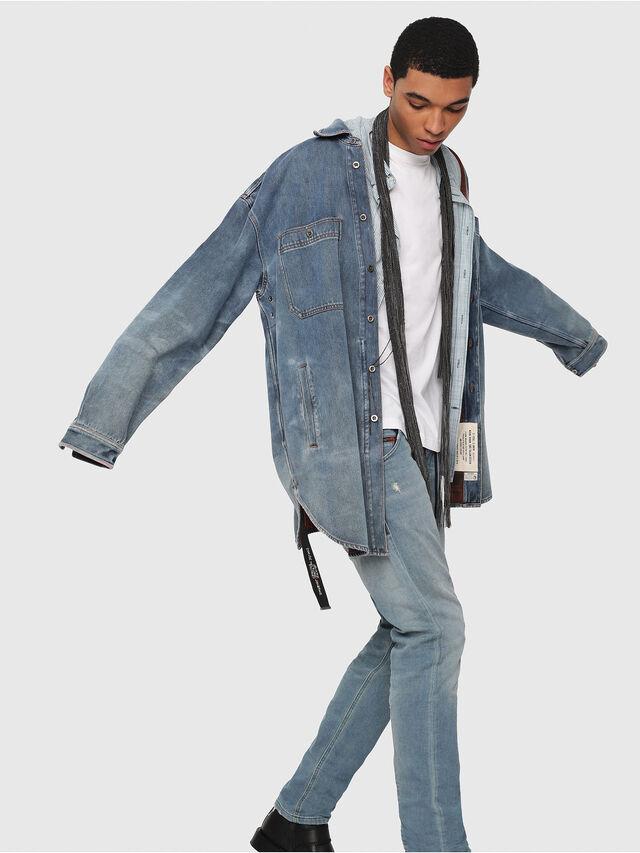 Diesel - Krooley JoggJeans 086AY, Medium blue - Jeans - Image 3