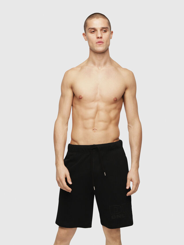 Diesel - UMLB-PAN, Black - Pants - Image 1