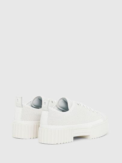 Diesel - S-MERLEY LC, White - Sneakers - Image 3
