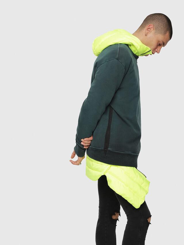 Diesel - S-BAY-YA, Dark Green - Sweaters - Image 3