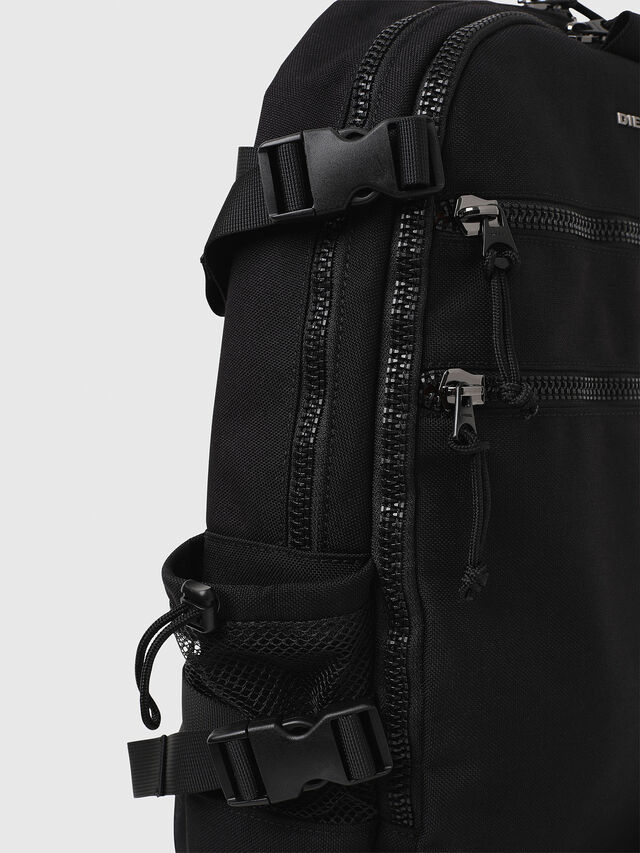 Diesel - F- URBHANITY BACK, Black - Backpacks - Image 4