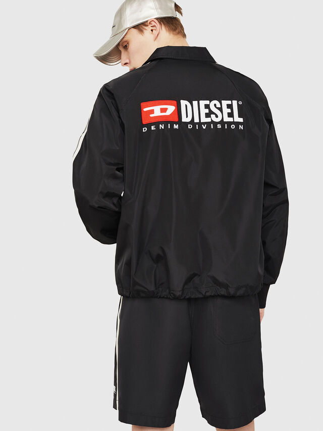 Diesel - J-AKITO, Black - Jackets - Image 2
