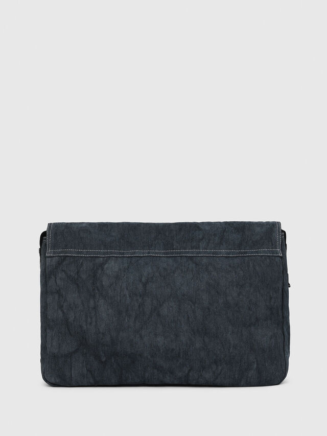Diesel - D-THISBAG MESSENGER, Blue Jeans - Crossbody Bags - Image 2