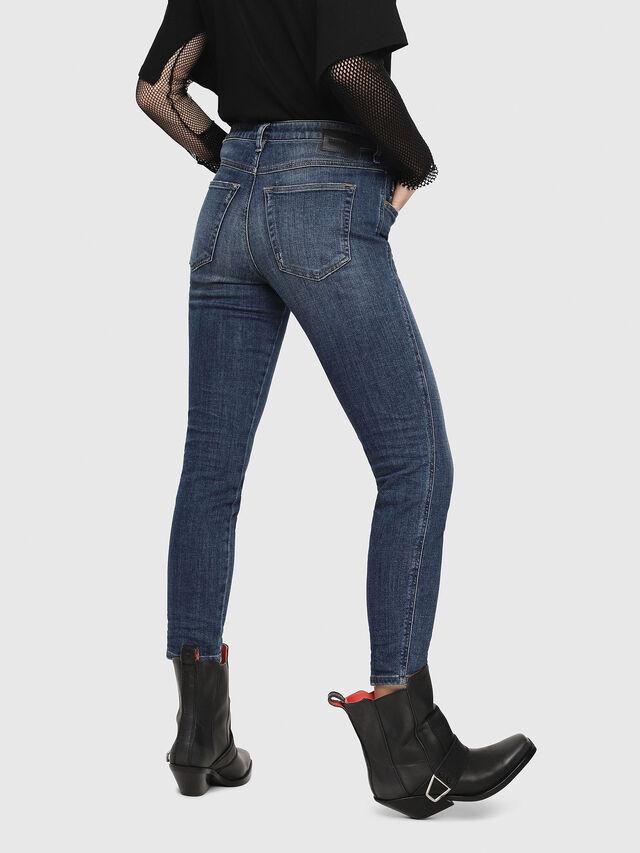 Diesel - Babhila 081AI, Dark Blue - Jeans - Image 2