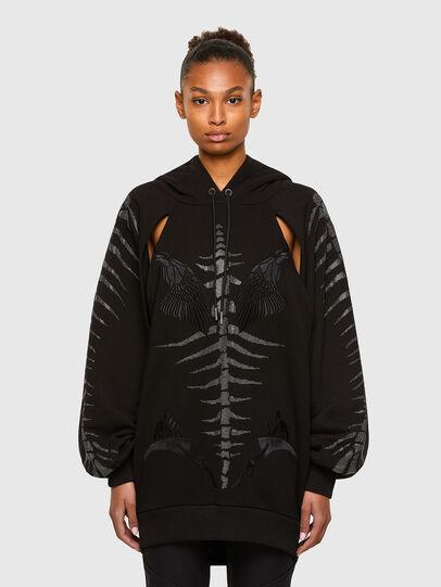 Diesel - F-ACADE, Black - Sweaters - Image 1