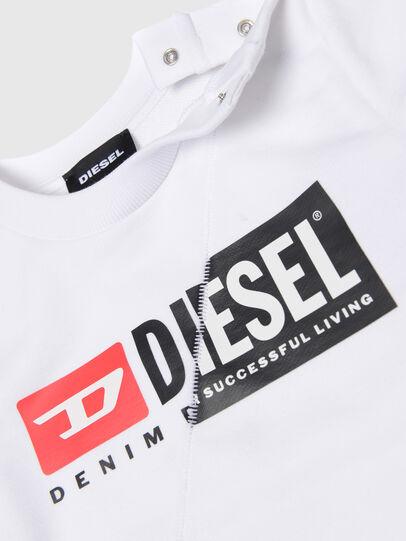 Diesel - SGIRKCUTYB, White - Sweaters - Image 3