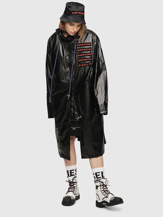 Diesel - G-ELIN, Black - Jackets - Image 1