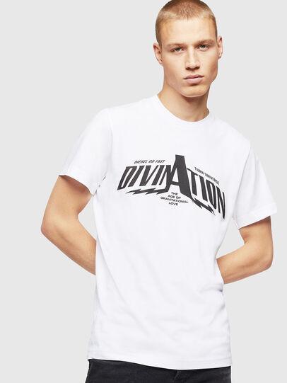 Diesel - T-DIEGO-B16, White - T-Shirts - Image 1