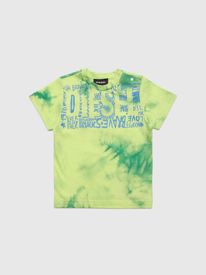 Diesel - TIMMYB, Green - T-shirts and Tops - Image 1