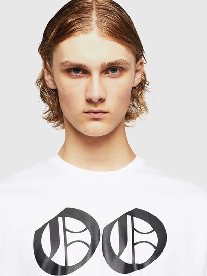 Diesel - TEORIALE-X2, White - T-Shirts - Image 3