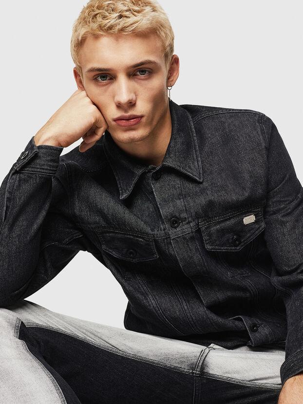 D-BRAY, Black - Denim Jackets
