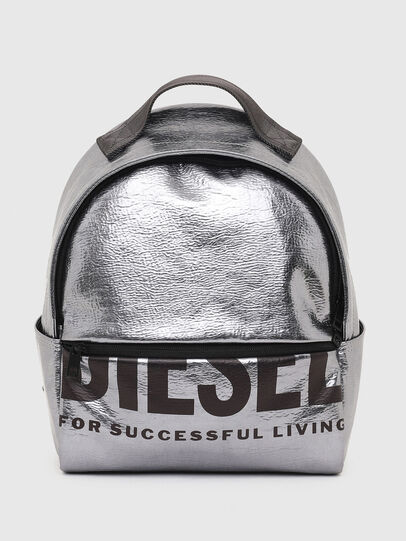 Diesel - F-BOLD BACK FL II, Silver - Backpacks - Image 1