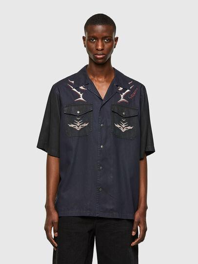 Diesel - D-MITCH-SP, Black - Shirts - Image 1