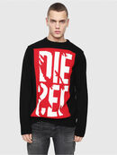 K-MAXIS-A, Black/Red - Knitwear