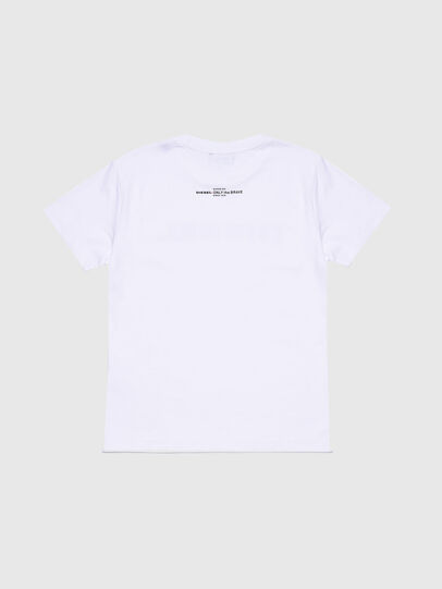 Diesel - TJFLAVIAY, White - T-shirts and Tops - Image 2
