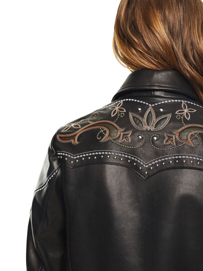 Diesel - LEXIA,  - Leather jackets - Image 3