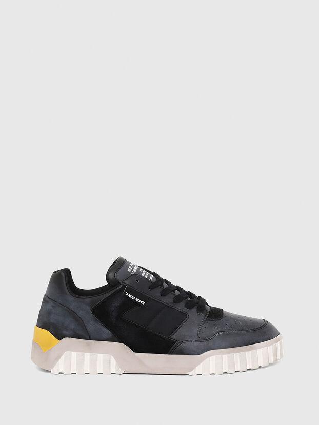 S-RUA LOW90, Blue/Black - Sneakers