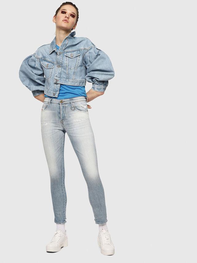 Diesel - Babhila 081AJ, Light Blue - Jeans - Image 4