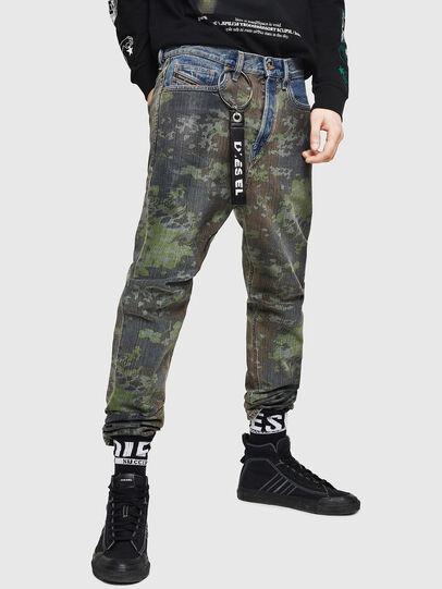 Diesel - D-Vider 0078E, Medium blue - Jeans - Image 1