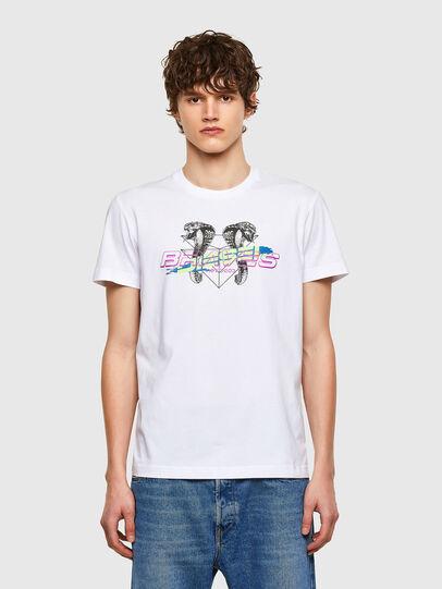 Diesel - T-DIEGOS-E35, White - T-Shirts - Image 1