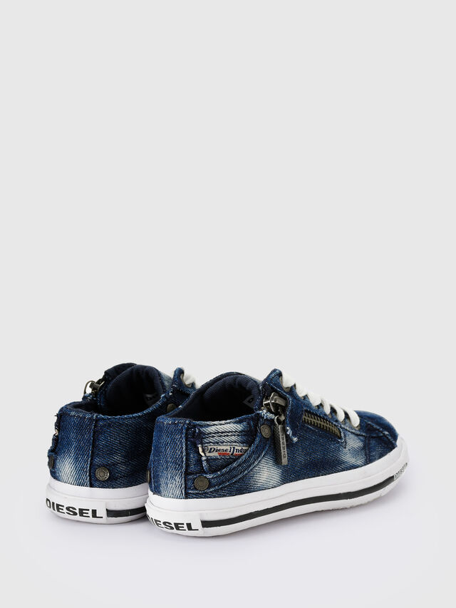 Diesel - SN LOW 25 DENIM EXPO, Blue Jeans - Footwear - Image 3
