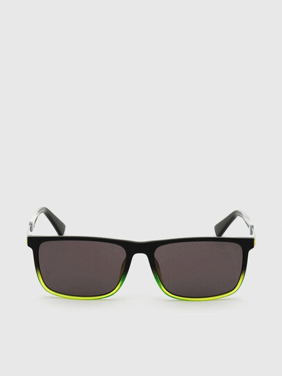 Diesel - DL0312, Black/Yellow - Sunglasses - Image 1