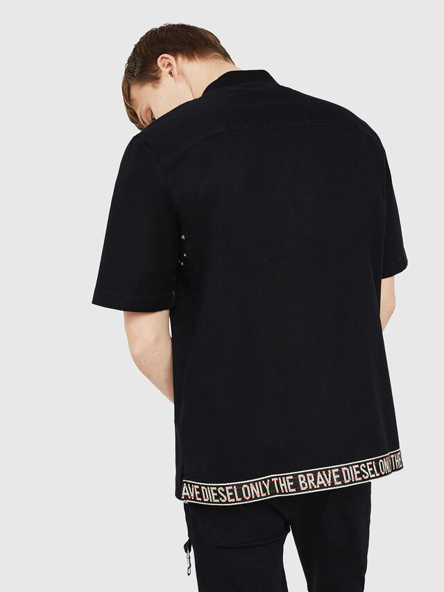 Diesel - S-DRINA, Black - Shirts - Image 2