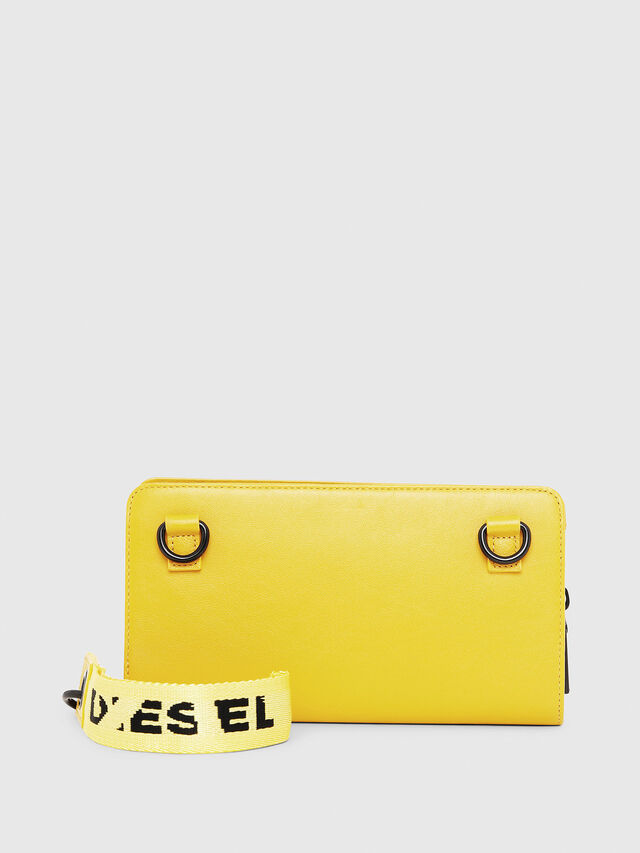 Diesel - NEW GRANATO LOOP, Yellow - Zip-Round Wallets - Image 2