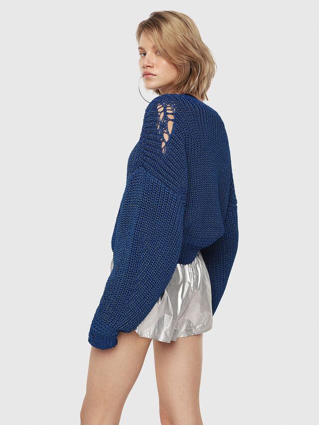 Diesel - M-BABI, Brilliant Blue - Knitwear - Image 2