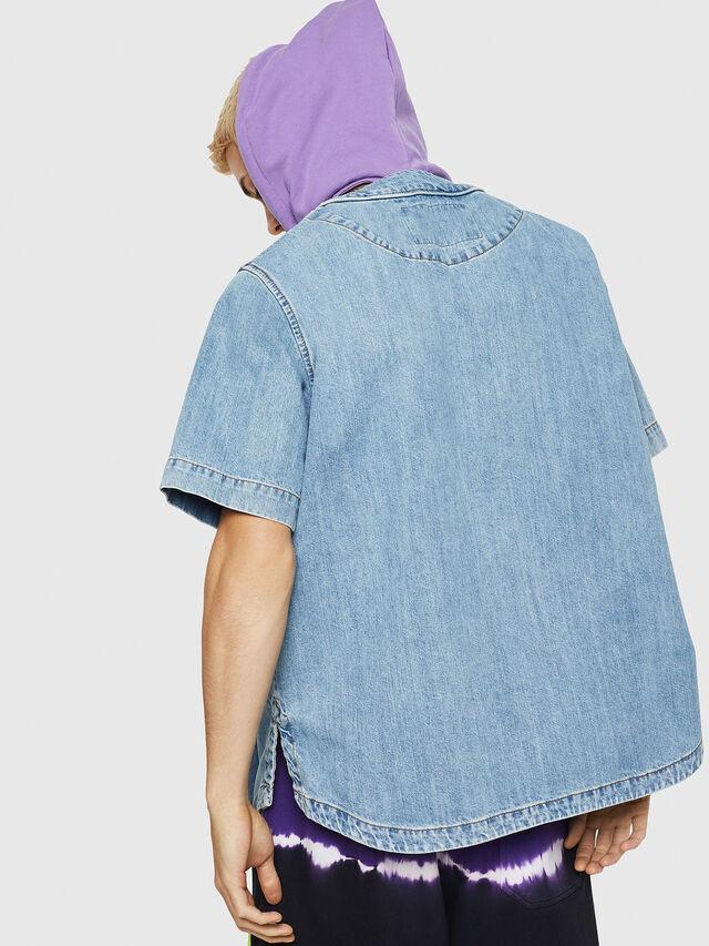 Diesel - D-BOW-J, Blue Jeans - Denim Shirts - Image 2