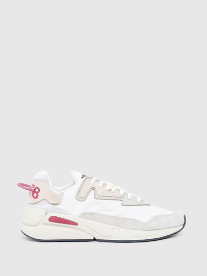 Diesel - S-SERENDIPITY LC W, White/Pink - Sneakers - Image 1