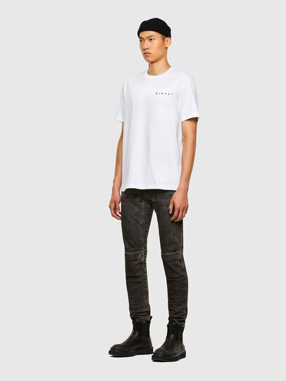 Diesel - T-JUST-N44, White - T-Shirts - Image 5