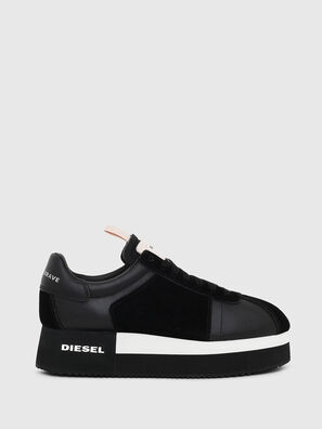 S-PYAVE WEDGE, Black - Sneakers