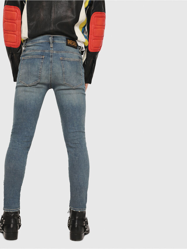 Diesel - D-Istort 085AZ, Medium blue - Jeans - Image 2